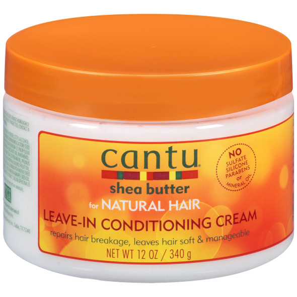 Cantu Shea Butter for Natural Hair Leave-In Conditioning Cream 12oz