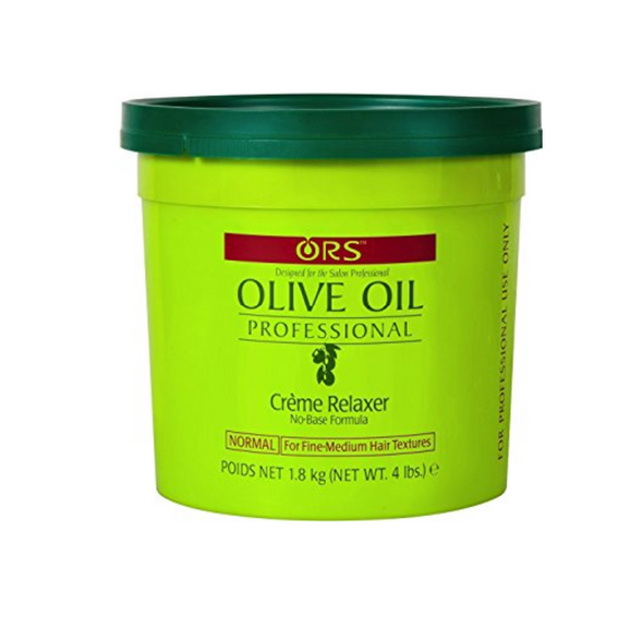 Organic Root Stimulator Olive Oil Professional Creme Relaxer Normal 4 lb