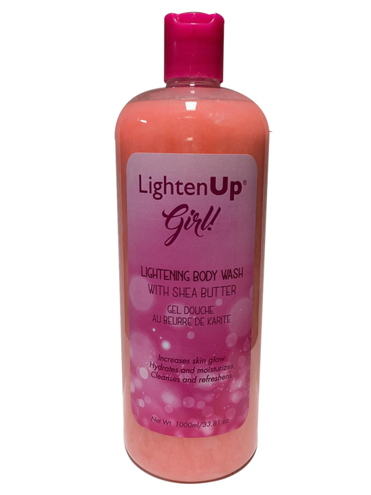 LightenUp Lightening Body Wash With Shea Butter