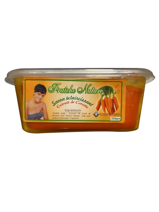 Fraîche Nature: Soap with Carrot Extract 350g