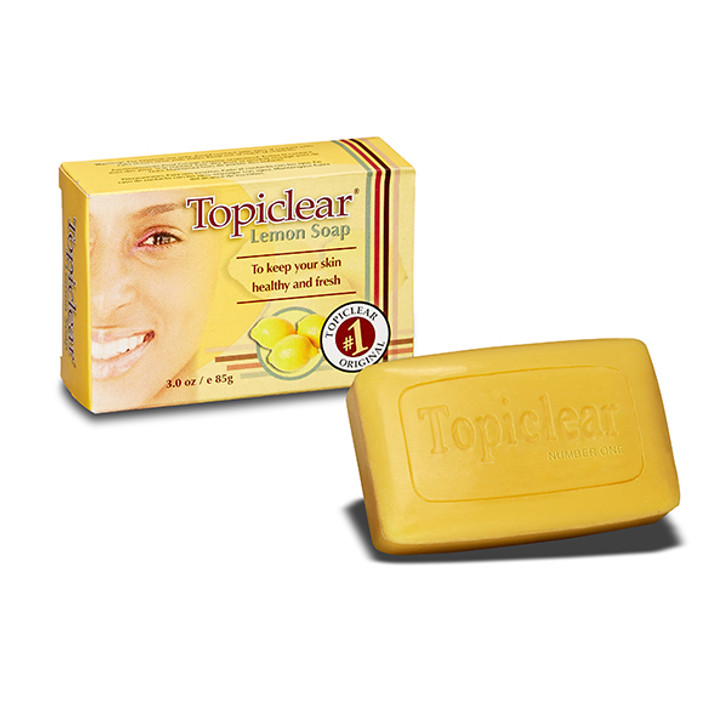 Topiclear Lemon Soap 3 oz/ 85 g