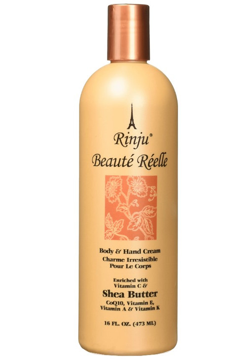 Rinju Beaute Reelle Body and Hand Lotion 16 oz