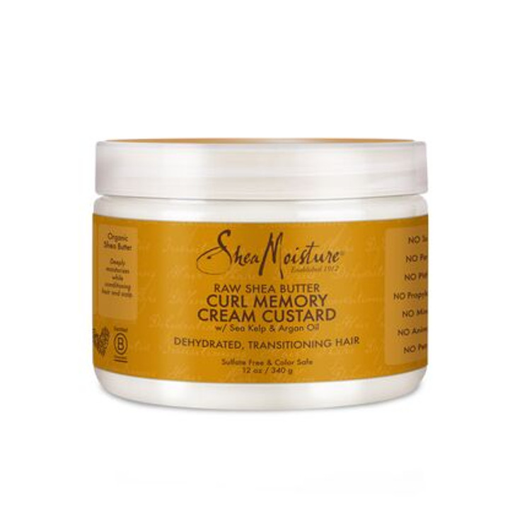 Shea Moisture Raw Shea Butter Curl Memory Cream Custard - 12 oz