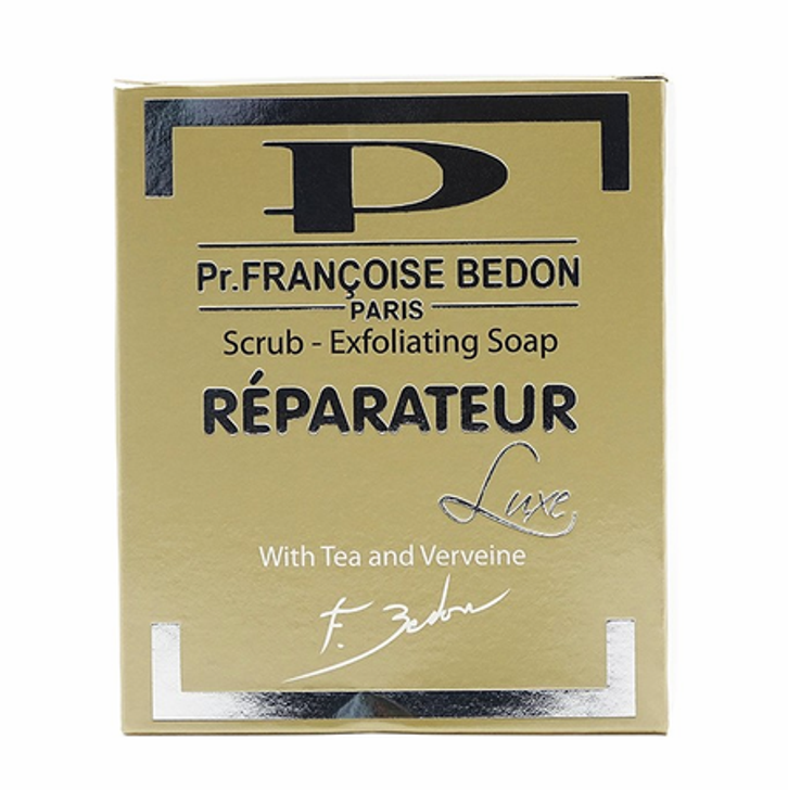 Pr. Francoise Bedon Reparateur Scrub Exfoliating Soap with Tea and Verveine 7 oz
