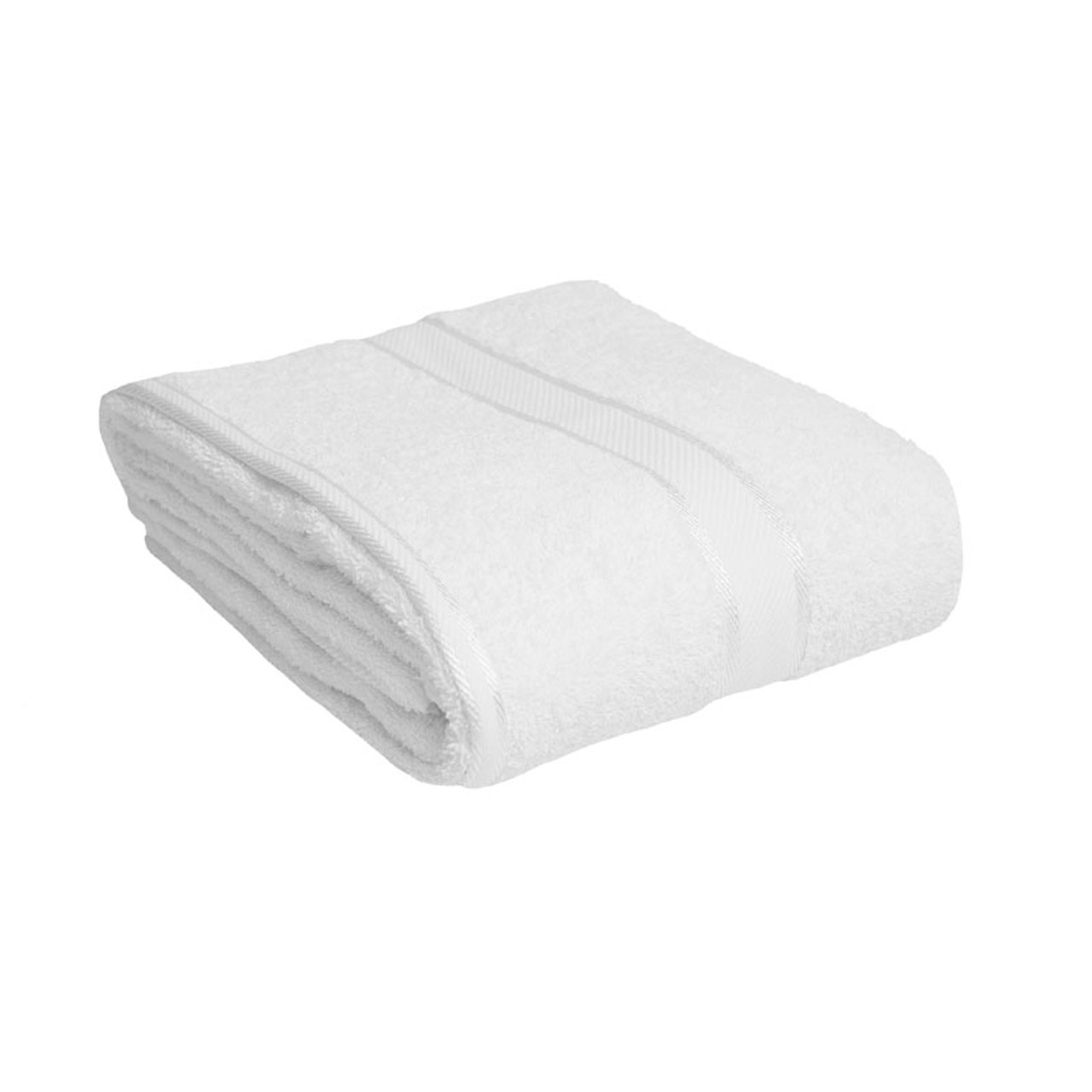 100 Cotton White Towels Bath Sheet