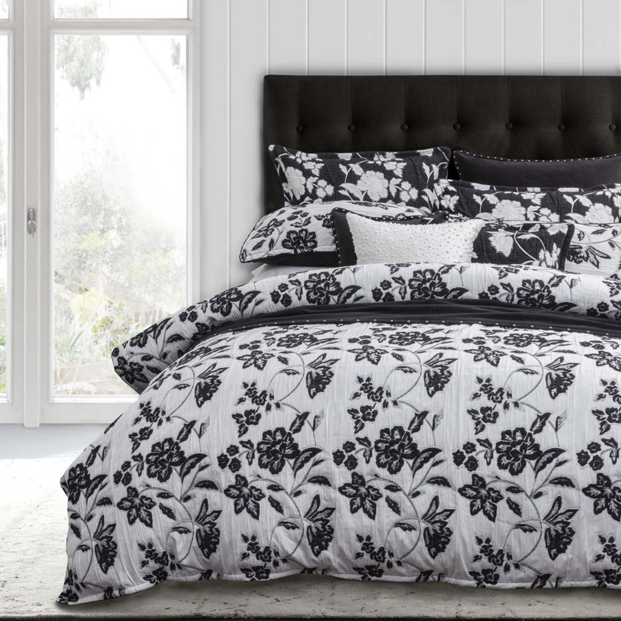 Marinda Night Quilt Cover Set By Private Collection Queen Bed My Linen
