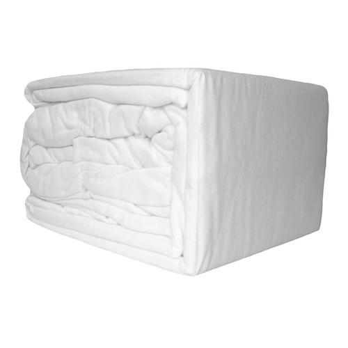 White Flannelette Sheet Set