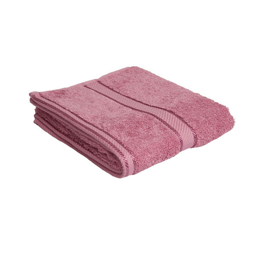 100% Cotton Rose Pink Hand Towel