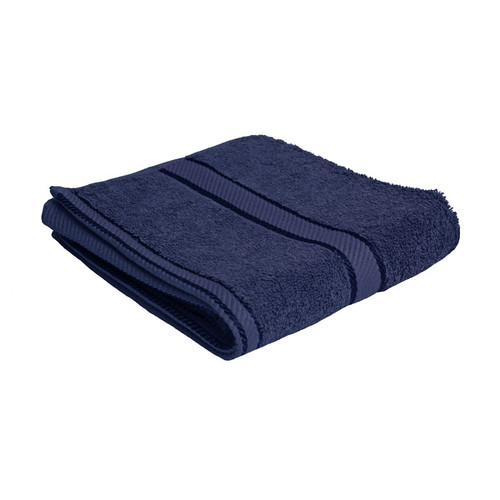 100% Cotton Navy Blue Hand Towel