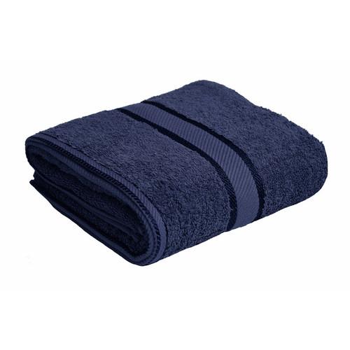 100% Cotton Navy Blue Bath Towel