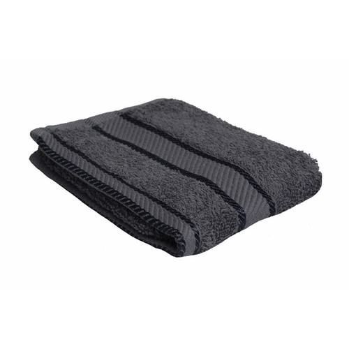 100% Cotton Charcoal Grey Face Washer