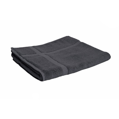 100% Cotton Charcoal Grey Bath Mat
