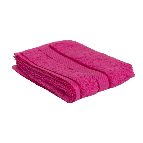 100% Cotton Fuchsia / Hot Pink Face Washer
