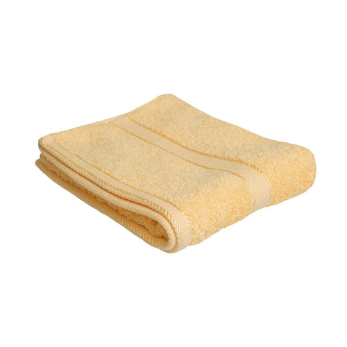 100% Cotton Yellow Hand Towel