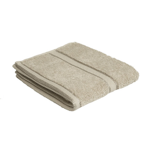 100% Cotton Linen / Latte Coffee Hand Towel