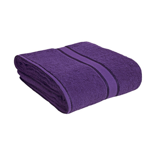 100% Cotton Purple Bath Sheet