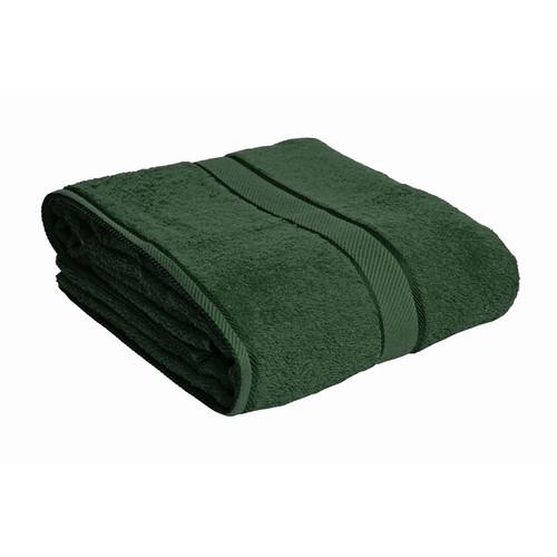 100% Cotton Forest Green Bath Sheet