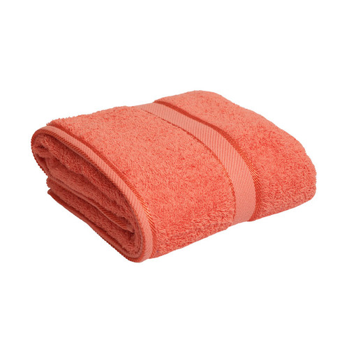 100% Cotton Terracotta / Rust Bath Towel