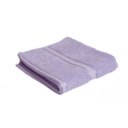 100% Cotton Lilac Hand Towel