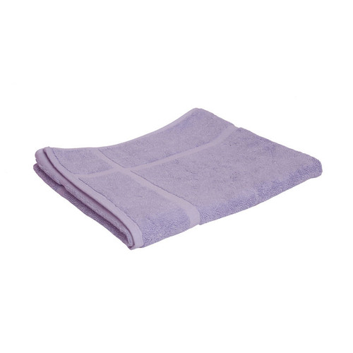 100% Cotton Lilac Bath Mat