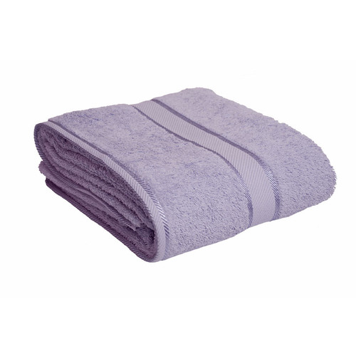 100% Cotton Lilac Bath Sheet