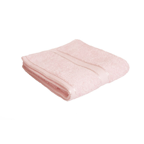100% Cotton Baby Pink Hand Towel
