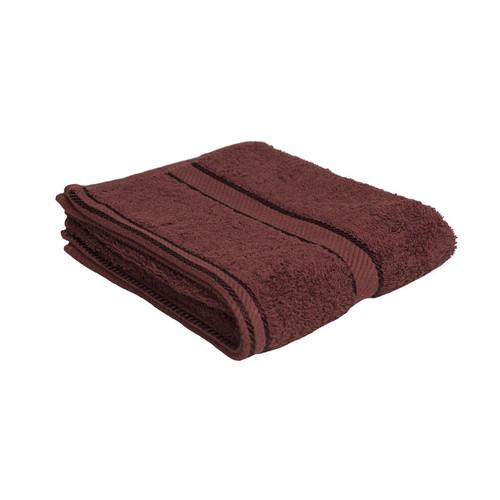 100% Cotton Chocolate Brown Hand Towel
