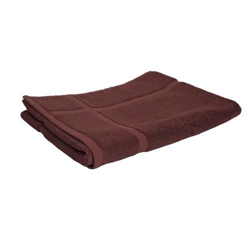 100% Cotton Chocolate Brown Bath Mat