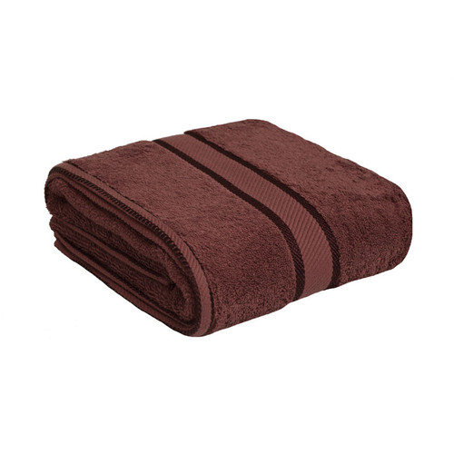 100% Cotton Chocolate Brown Bath Towel