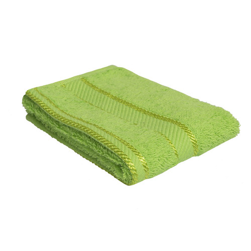 100% Cotton Bright Lime Green Face Washer