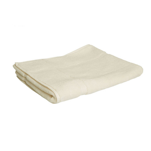 100% Cotton Cream Bath Mat