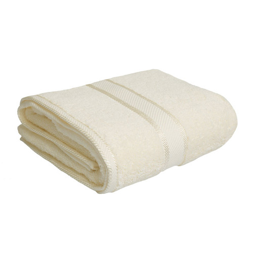 100% Cotton Cream Bath Towel