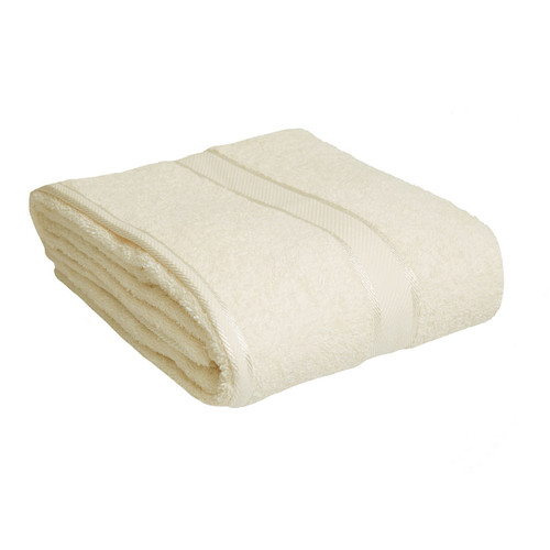 100% Cotton Cream Bath Sheet