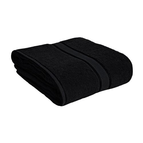 100% Cotton Black Bath Sheet