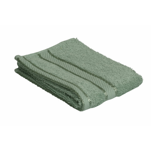 100% Cotton Frost Green Face Washer