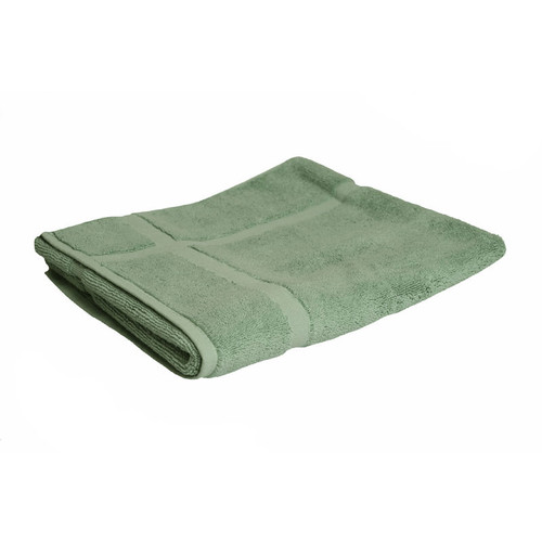 100% Cotton Frost Green Bath Mat