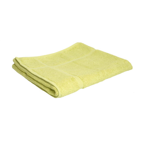 100% Cotton Apple Green Bath Mat