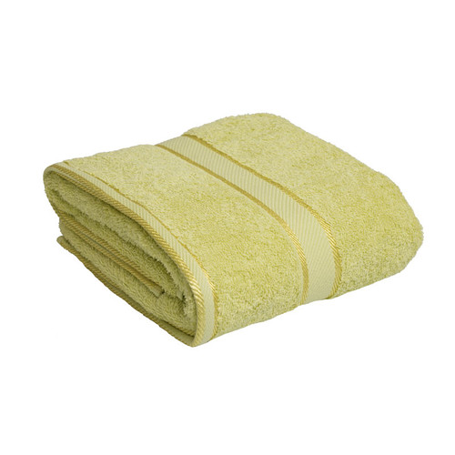 100% Cotton Apple Green Bath Towel