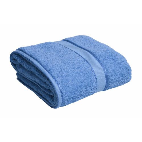 100% Cotton Blue Bath Towel