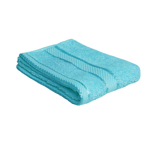 100% Cotton Turquoise Face Washer