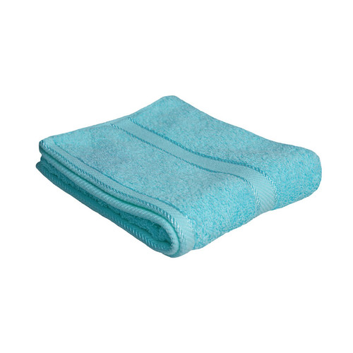 100% Cotton Turquoise Hand Towel
