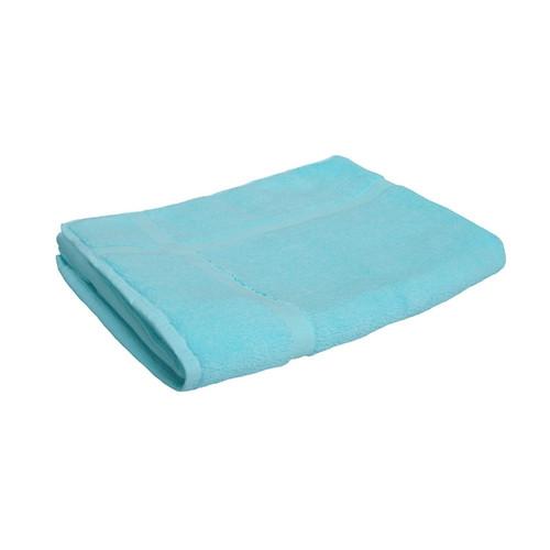 100% Cotton Turquoise Bath Mat