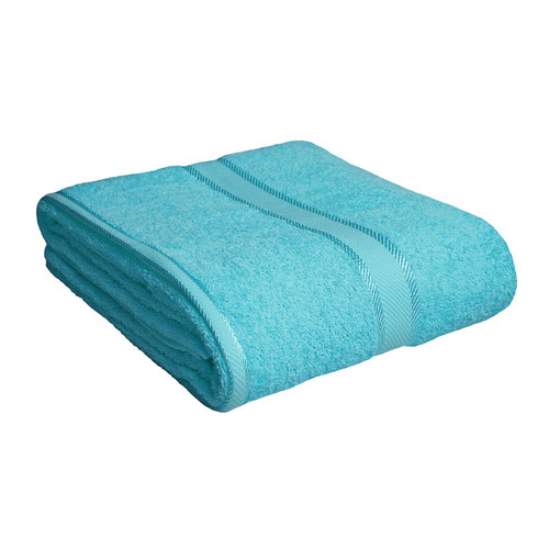 100% Cotton Turquoise Bath Sheet