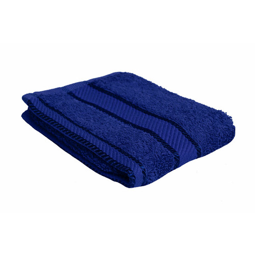 100% Cotton Royal Blue Face Washer