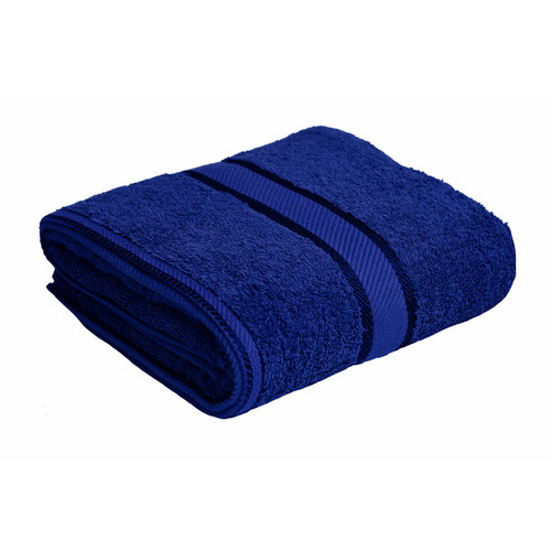 100% Cotton Royal Blue Bath Towel