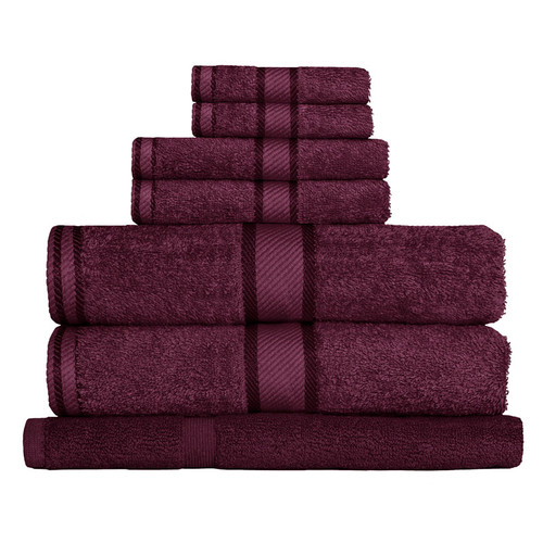 100% Cotton Shiraz 7pc Bath Towel Set