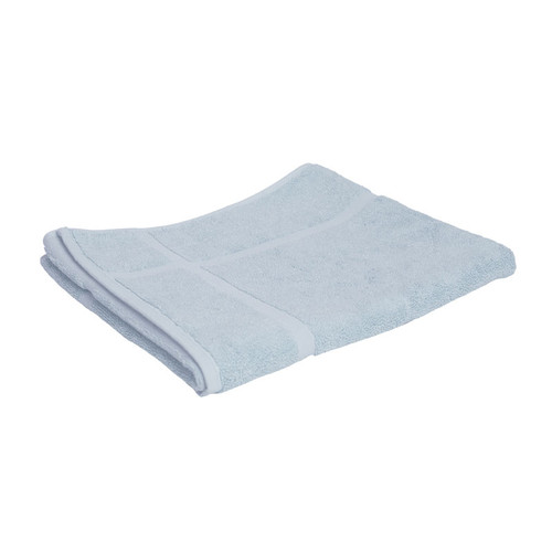 100% Cotton Baby Blue Bath Mat