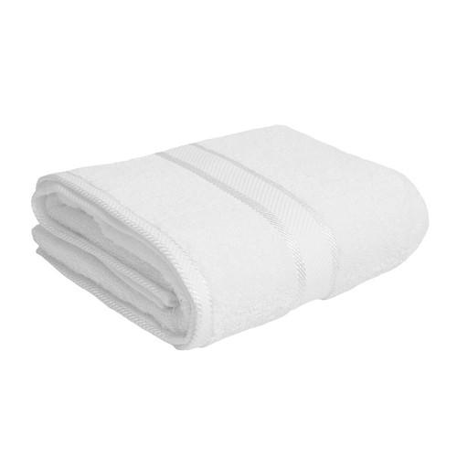100% Cotton White Bath Towel