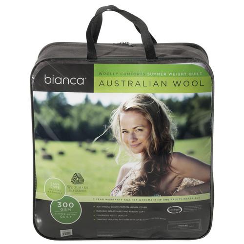 Single Bed Australian Wool Summer Quilt