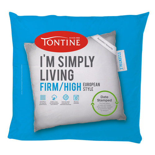 Simply Living Firm / High European Pillow